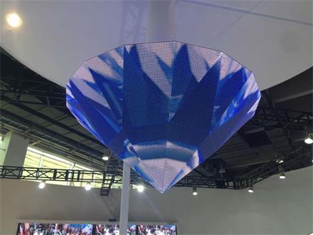 LED钻石显示屏应用案例