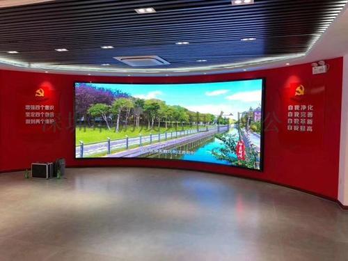 江苏泰州室内P1.56全彩LED显示屏应用案例